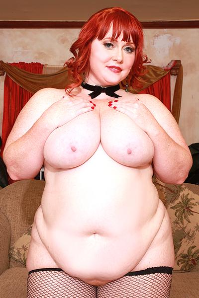 Redhead bbw pornstar